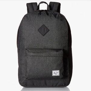 Hershel | NWOT Heritage Backpack Black Crosshatch